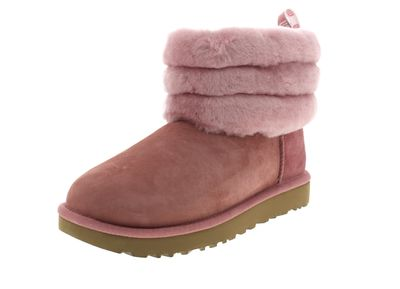 UGG Damenschuhe - Booties FLUFF MINI QUILTED pink dawN
