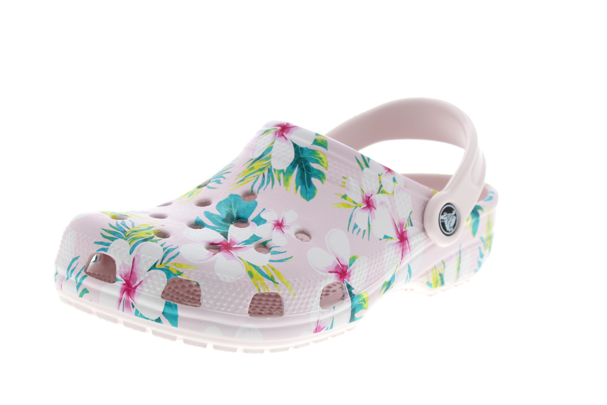200c642d98b56 CROCS Clogs CLASSIC SEASONAL GRAPHIC barely pink floral
