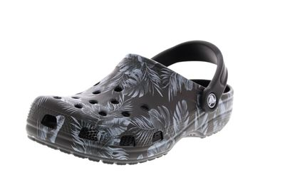 CROCS - Clogs CLASSIC SEASONAL GRAPHIC - black tropical