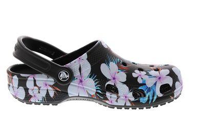 CROCS - Clogs CLASSIC SEASONAL GRAPHIC - black floral preview 4