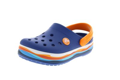 CROCS Kinder - CROCBAND WAVY BAND CLOG - blue jean