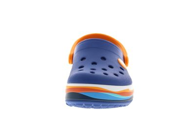 CROCS Kinder - CROCBAND WAVY BAND CLOG - blue jean preview 3