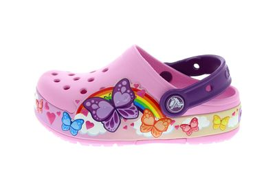 CROCS - Kids FunLab ButterflyBand Lights Clog carnation preview 2