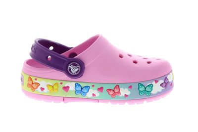 CROCS - Kids FunLab ButterflyBand Lights Clog carnation preview 4