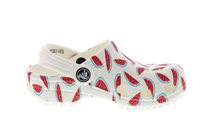 CROCS Kids - CLASSIC SEASONAL GRAPHIC CLOG - white red preview 4