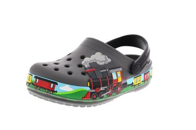 CROCS Kinderschuhe FunLab TRAIN BAND Clog - slate grey