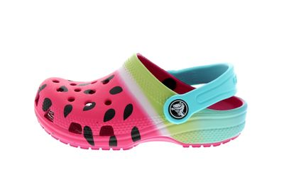 CROCS Kids - CLASSIC OMBRE GRAPHIC CLOG - candy pink preview 2