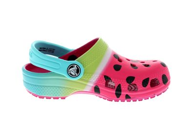 CROCS Kids - CLASSIC OMBRE GRAPHIC CLOG - candy pink preview 4