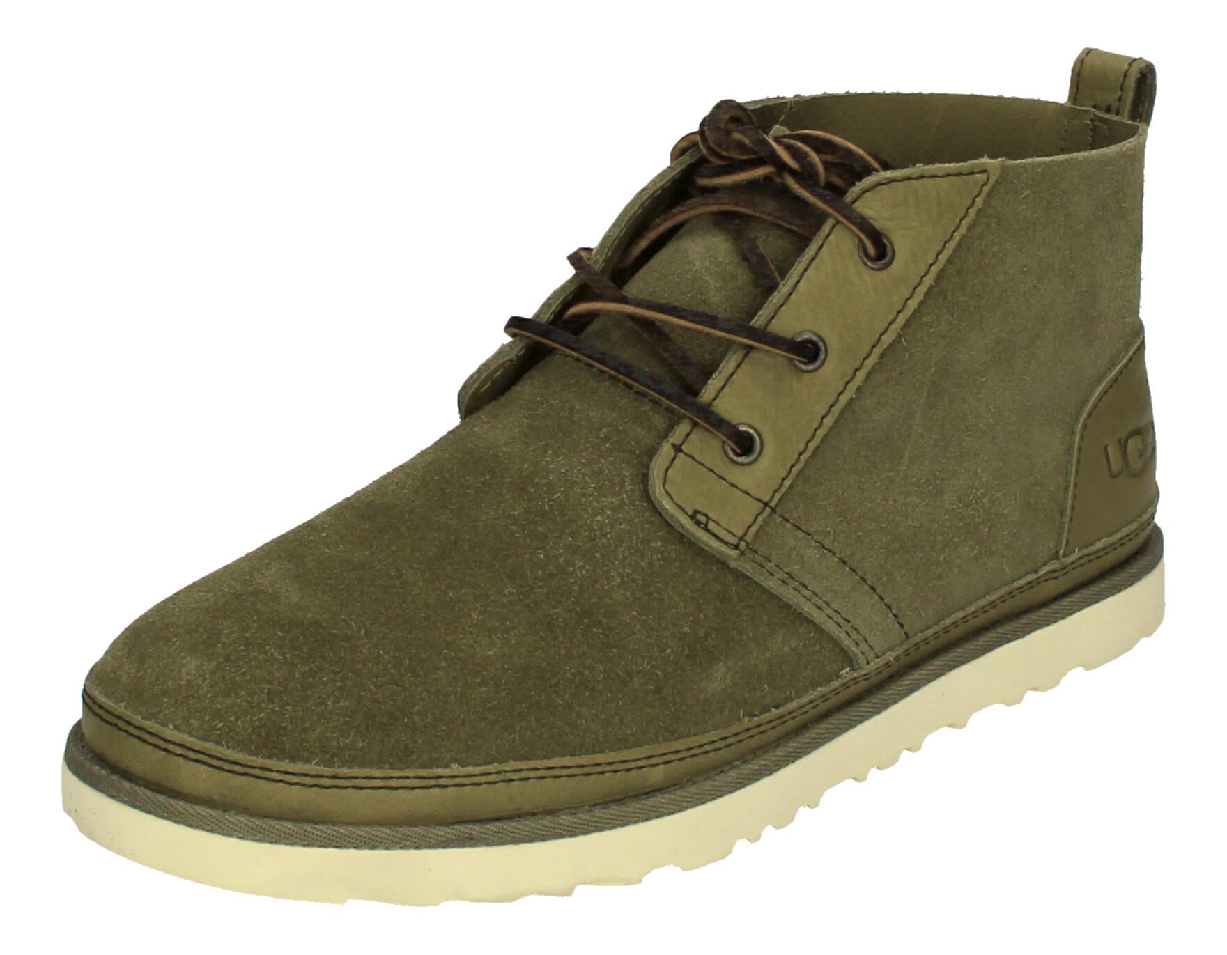 UGG Herrenschuhe - Boots NEUMEL UNLINED - moss green_1