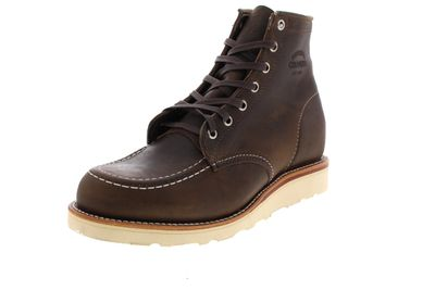 "CHIPPEWA 6"" MOC TOE WEDGE BOOT 1901M23 E crazy horse"