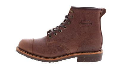 "CHIPPEWA Boots - 6"" PEBBLED FULL GRAIN 1901G35 D - brown preview 2"