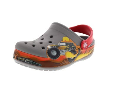 CROCS Kinderschuhe - CROCBAND MONSTER TRUCK - smoke
