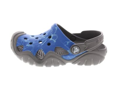 CROCS Kinderschuhe SWIFTWATER GRAPHIC CLOG multi cerulan preview 2