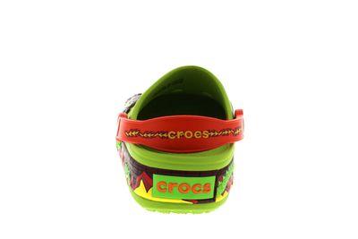 CROCS Kids - CrocsLights FIRE DRAGON Clog - volt green preview 5