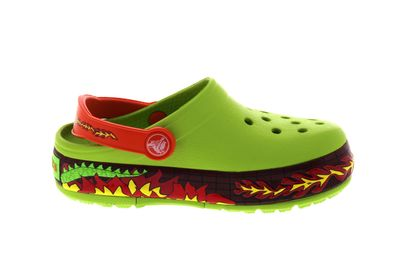 CROCS Kids - CrocsLights FIRE DRAGON Clog - volt green preview 4