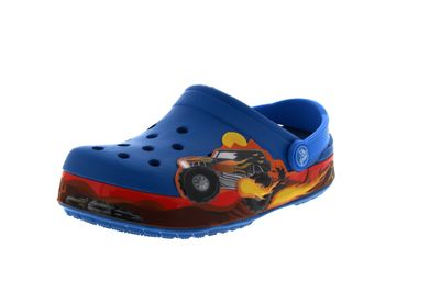 CROCS Kinderschuhe CROCBAND MONSTER TRUCK - ultramarine