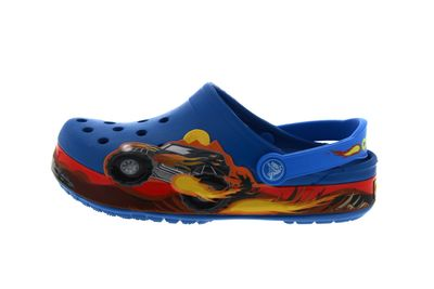 CROCS Kinderschuhe CROCBAND MONSTER TRUCK - ultramarine preview 2