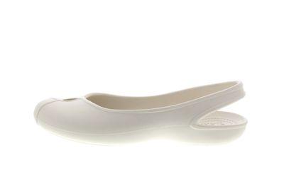 CROCS Damenschuhe - Ballerina OLIVIA II FLAT - oyster preview 2