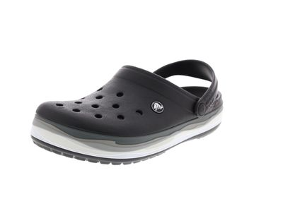 CROCS reduziert - CROCBAND WAVY BAND Clog - black multi preview 1