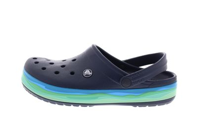 CROCS reduziert - CROCBAND WAVY BAND Clog - navy multi preview 2