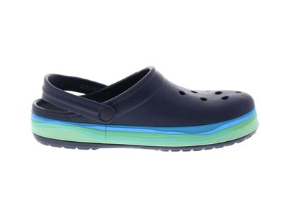 CROCS reduziert - CROCBAND WAVY BAND Clog - navy multi preview 4