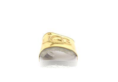 UGG Damen - Pantoletten ROYALE GRAPHIC METALLIC - gold preview 3