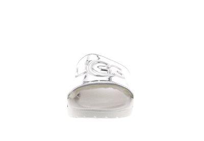 UGG Damen - Pantoletten ROYALE GRAPHIC METALLIC silver preview 3