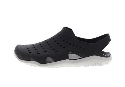 CROCS Schuhe SWIFTWATER WAVE - black pearl white preview 2