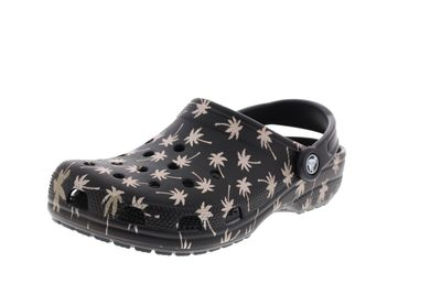 CROCS - Clogs CLASSIC SEASONAL GRAPHIC - black gold