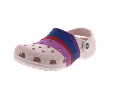 CROCS Clogs CLASSIC SEASONAL GRAPHIC barely pink multi