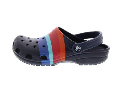 CROCS Clogs - CLASSIC SEASONAL GRAPHIC - navy multi preview 2