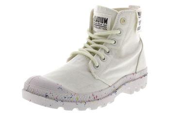 PALLADIUM Damen - Boots PAMPA HI ORGANIC - star white