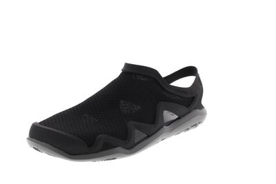 CROCS Herrenschuhe - SWIFTWATER MESH WAVE - black grey