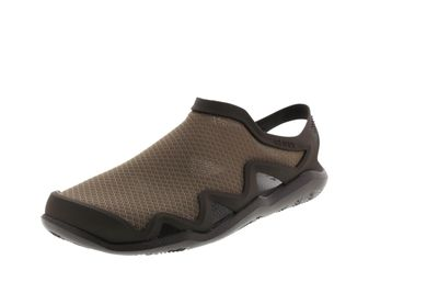 CROCS Herrenschuhe SWIFTWATER MESH WAVE walnut espresso