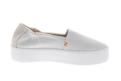HUB FOOTWEAR Damen Sneakers FUJI XL LEATHER PERF white preview 4