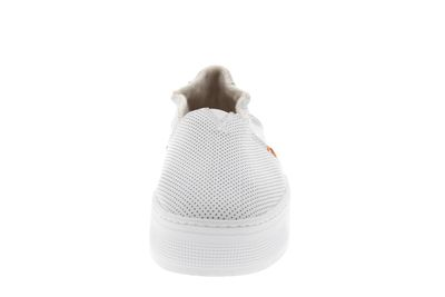 HUB FOOTWEAR Damen Sneakers FUJI XL LEATHER PERF white preview 3