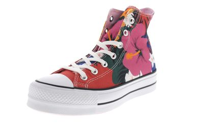 CONVERSE Sneakers CTAS LIFT HI 563975C strawberry jam