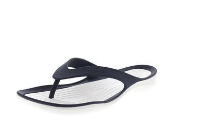 CROCS reduziert Zehentrenner SWIFTWATER FLIP navy white preview 1