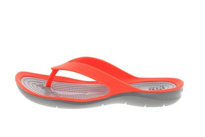 CROCS reduziert Zehentrenner SWIFTWATER FLIP coral grey preview 2