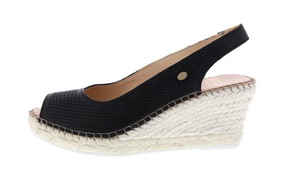 FRED DE LA BRETONIERE Espadrille Sandalet 153010095 black preview 2