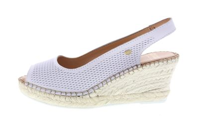 FRED DE LA BRETONIERE Espadrille Sandalet 153010095 white preview 2