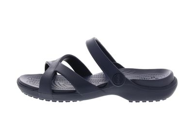 CROCS reduziert - MELEEN CROSS BAND SANDAL - navy preview 2