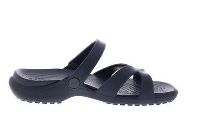 CROCS reduziert - MELEEN CROSS BAND SANDAL - navy preview 4