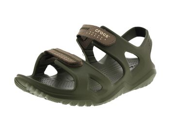 CROCS Herrenschuhe - SWIFTWATER RIVER SANDAL - army green