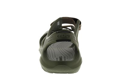 CROCS Herrenschuhe - SWIFTWATER RIVER SANDAL - army green preview 5