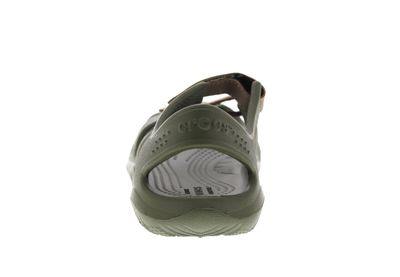 CROCS Kinder - SWIFTWATER RIVER SANDAL army green preview 5