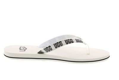 UGG Damenschuhe - Zehentrenner SIMI GRAPHIC  - white preview 4