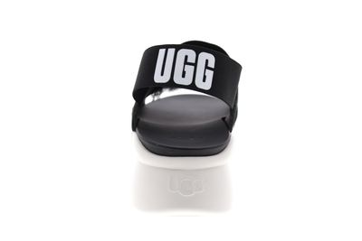 UGG Damenschuhe - Sandale SILVERLAKE - black white preview 5
