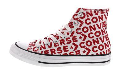 CONVERSE Damen Sneakers CTAS HI 163953C - red white preview 2