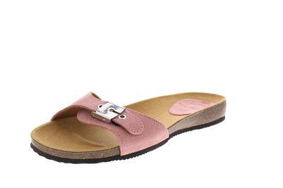 SCHOLL Pantoletten BAHAMA 2.0 SUEDE 708351 - light pink